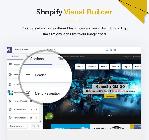 Responsive Games Shopify Theme